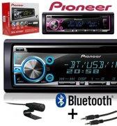 Pioneer DEH-X5700BT - Autoradio Enkel DIN - USB - CD - Multi color display