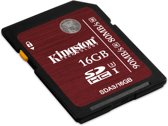 16GB SDHC UHS-I Speed Class 3 Flash Card