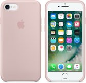 Apple iPhone 7 Silicone Hoes -  Roze
