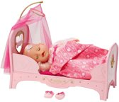 Baby born Interactief Prinsessenbed - Poppenbed