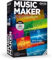 Magix Music Maker 2015 Premium - Nederlands / 1 Gebruiker / DVD