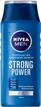 NIVEA For Men Strong Power - 250 ml - Shampoo