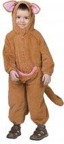 Pluche kangoeroe jumpsuit voor peuters 92