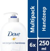 Dove beauty Cream Wash - 250 ml - pompzeep - 6 st - Voordeelverpakking