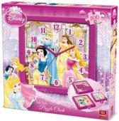 Puzzel Klok - Disney Princess