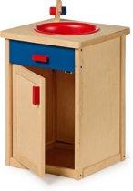 Base Toys Houten Keukenkastje met Afwasbak