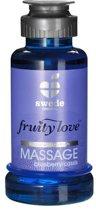 Swede - Fruity Love Massage - Bosbes/Cassis - 100 ml - Glijmiddel