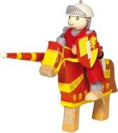 Goki Houten buigpopje ridder artus 11cm