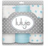 Lulujo mini swaddle 3-pack 100% katoen  70x70 cm - Brilliant Blue