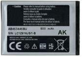 Samsung Accu AB463446BU (o.a. C3520,C5010,E1120,E1150,E1190,E1230,E2232,S3030,S3100 en S5150)
