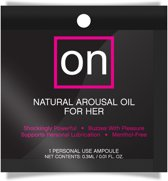 Sensuva ON Arousel Oil for Her Original Ampoule - 1 ml - Stimulerend Middel