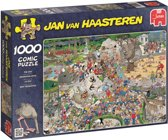 Jan van Haasteren Dierentuin Artis - Puzzel - 1000 stukjes