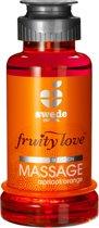 Swede - Fruity Love Massage - Abr/Sinaasappel - 100 ml - Glijmiddel