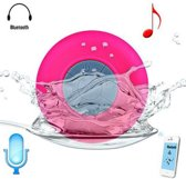Roze Mini waterdichte Wireless Bluetooth Speaker Douche/Bad Mp3 Speaker/Radio - Waterproof