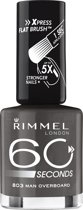 Rimmel 60 seconds finish nailpolish - 803 Dark Grey - Nailpolish