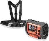 Rollei, S-30 WiFi Plus Actioncam (Orange) met Borstharnas