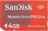 Sandisk Memory Stick PRO Duo™ 4Gb