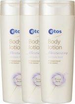 Etos Moisturizing - 3x 250 ml - Bodylotion - Voordeelverpakking