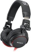 Sony MDR-V55 - On-Ear Koptelefoon - Zwart/Rood