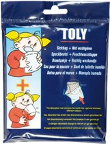 Toly - Washandje en braakzakje