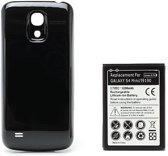 qMust Extended Battery Pack voor de Samsung Galaxy S4 mini 6200mAh (black)