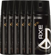 Axe peace Body Spray - 150 ml - deodorant - 6 st - Voordeelverpakking