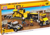 Mega Bloks CAT Heavy Duty Transporter