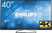 Philips 40PUK6809 - 3D led-tv - 40 inch - Ultra HD/4K - Smart tv