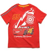 Disney Cars Jongens T-shirt - rood - Maat 110
