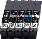 Canon PGI-72 PBK/GY/PM/PC/CO - Inktcartridge / Multipack