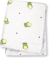 swaddle hydrofieldoek green owls