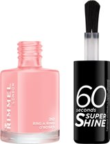 Rimmel London 60 seconds supershine nailpolish - 262 Ring A Ring O'Roses - Nagellak