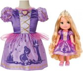 Jakks Pacific: Disney Prinses Rapunzel met verkleedjurk