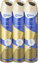 Etos Haispray Classic styling Extra strong - 3 X 300 ml - Hairspray