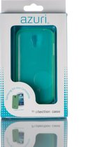 Azuri ultra thin cover voor Samsung I9195 Galaxy S4 Mini - groen