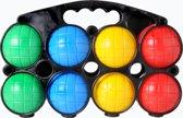 Jeu de Boules Set - 8 Ballen - Plastic