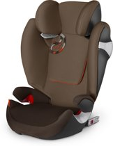 Cybex - Solution M-Fix - Autostoel groep 2,3 -  Coffee Bean - brown