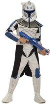 Star Wars Clone Trooper Leader Rex kostuum maat 134/146