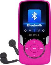 Difrnce MP1818 4GB Roze - bluetooth MP4 speler