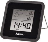 Hama Thermo/Hygrometer Th50 - Zwart