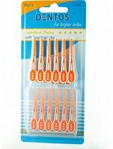 Dentos opzetborstels voor Oral B - 8 stuks
