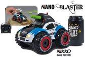 Nikko Nano Blaster - RC Auto - Blauw