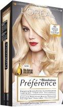 L'Oréal Paris Préférence Récital - 01 Natuurlijk Blond - Haarkleuring