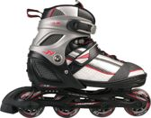 Nijdam Junior Inlineskates Junior Verstelbaar - Semi-Softboot - Maat 30-33