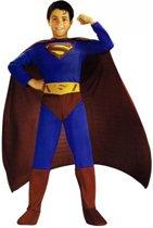 Superman kostuum voor jongens 3-4 jaar (110)