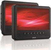 Akai APD710T - Portable DVD-speler met 2 schermen - 7 inch