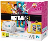 Nintendo Wii U 8GB Basic Bundel Wit + Just Dance 2014 + NintendoLand + 1 Wii Controller
