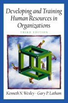 Developing and Training Human Resources in Organizations