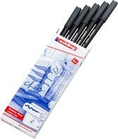 Color pennen Edding 1300-21 grijs-donker