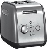 KitchenAid Broodroosters KitchenAid Broodrooster met 2 sleuven, Contour zilver